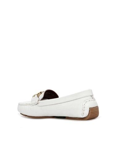George Hogg Kadın Loafer Ayakkabı 7004713 Beyaz
